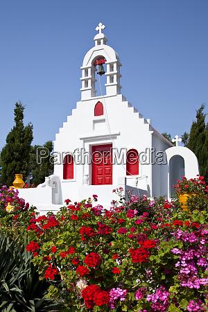 greece mykonos church near ano mera