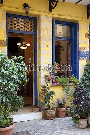 greece crete chania storefront in chania
