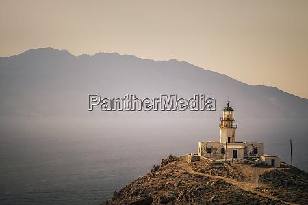 greece santorini old lighthouse