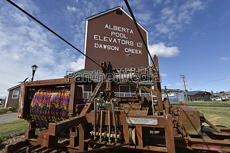 dawson creek alcan alaska highway british