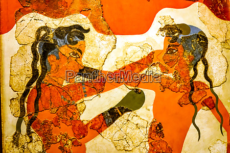 ancient boxers fresco national archaeological museum