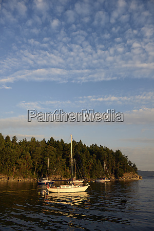 canada british columbia gulf islands tent