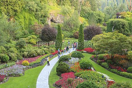 butchart gardens national historic site victoria