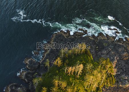 canada british columbia aerial view of