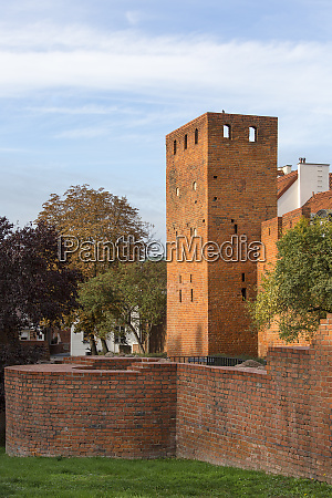 city, walls, around, warsaw, old, town, - 27926611