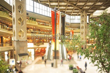 complexe desjardins shopping center downtown montreal