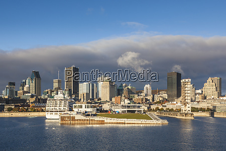 canada quebec montreal city skyline from