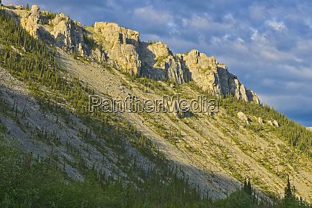 canada yukon ogilvie mountains slope credit