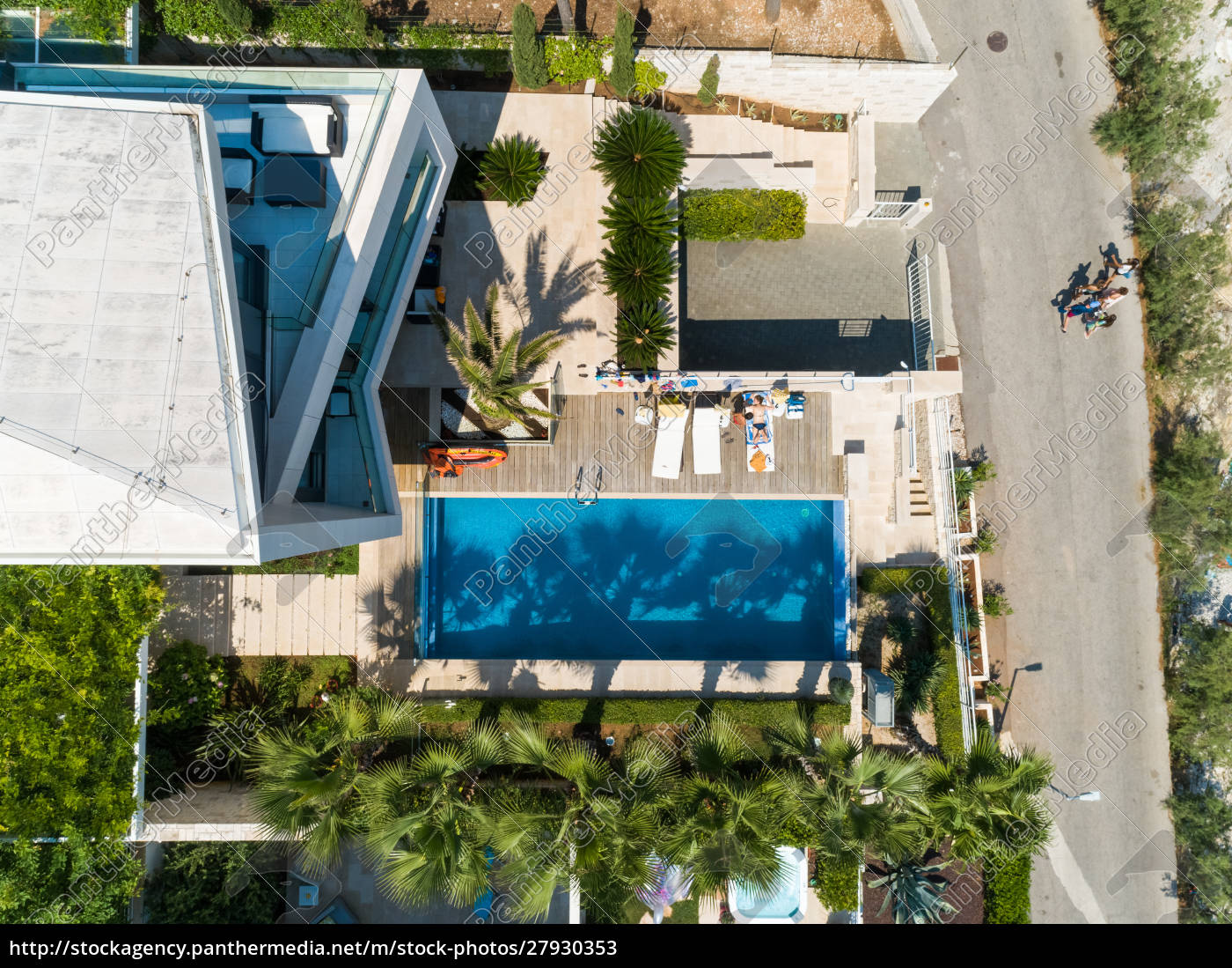 aerial, view, of, touristic, hotel, at - 27930353