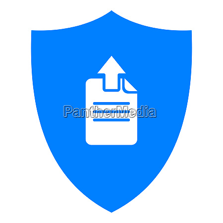 document upload and shield