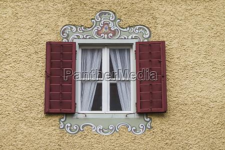 austria salzburgerland lofer window detail