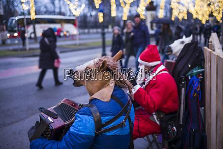 austria vienna christmas the animal orchestra
