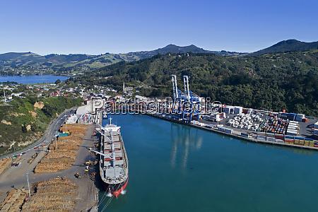 log terminal and ship port of
