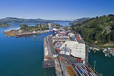 port chalmers container terminal dunedin otago