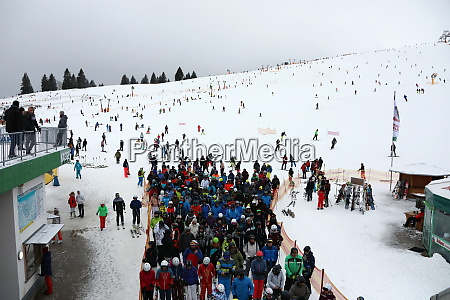 snow island and winter sports resort