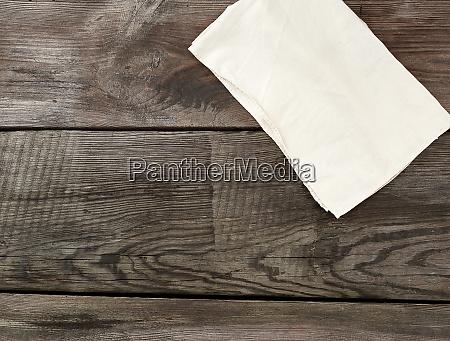 white kitchen textile towel folded on