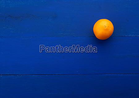 whole orange round orange on a