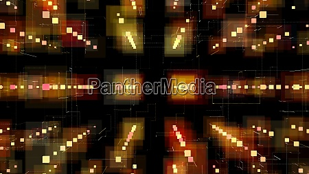 3d illustration 3d rendering abstract geometric