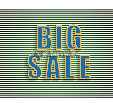 big sale background for your promotional