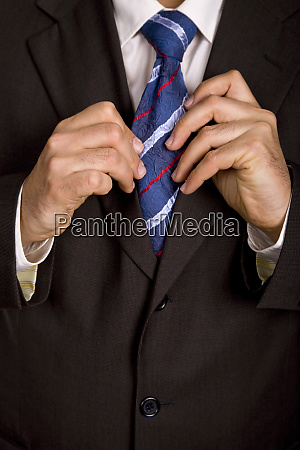 colored tie