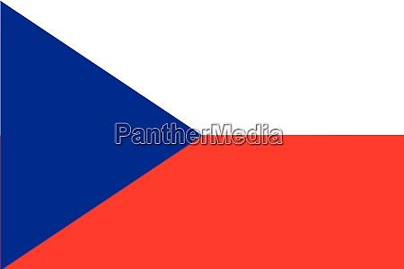 national flag of czechia