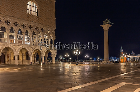 st marks square in venice at
