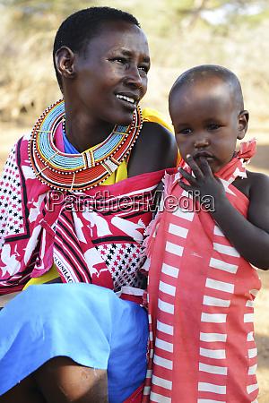 kenya laikipia il ngwesi masai woman