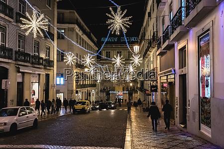 street, atmosphere, in, lisbon, at, night - 27959752