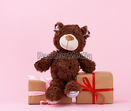 brown, cute, teddy, bear, and, gifts - 27962524