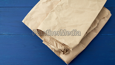 folded, brown, crumpled, kraft, paper, sheet - 27962565