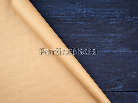 untwisted, roll, of, brown, craft, paper - 27962533
