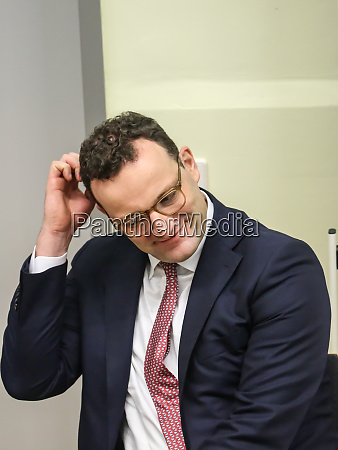 federal minister of health jens spahn