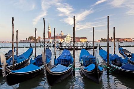 gondolas, , italy, , italia, , veneto, venezia, district - 27967936