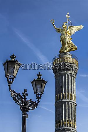 germany berlin mitte siegessaule monument also