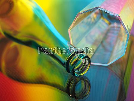bottle drinking glass
