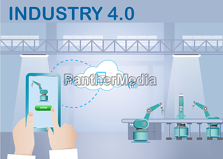 cloud computing in digitization of industry