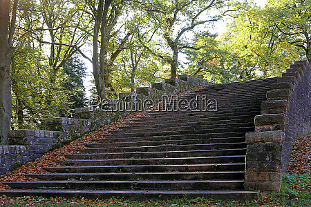 thingstaette heidelberg staircase in the