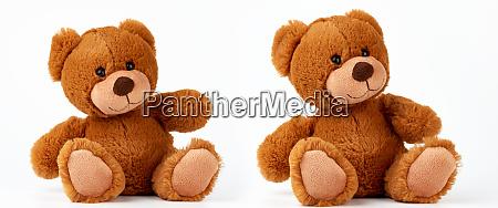 cute brown little vintage teddy bear