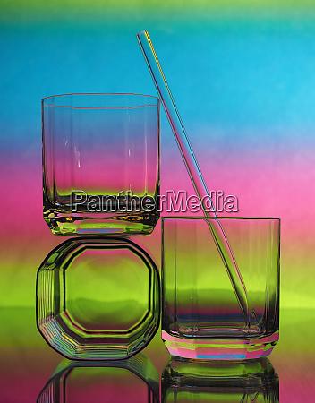 drinking glasses drinking straw