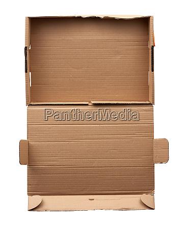 rectangular folding box for shipping goods