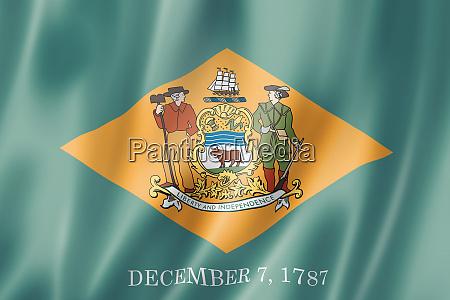 delaware flag usa
