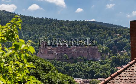 heidelberg castle baden wurttemberg germany