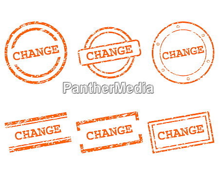 change stamps
