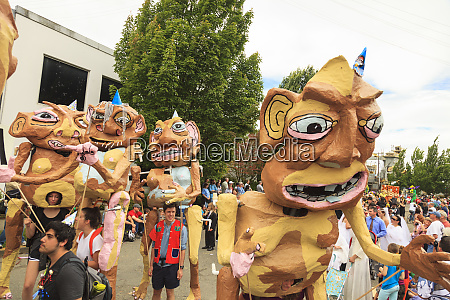 fremont solstice annual parade seattle washington
