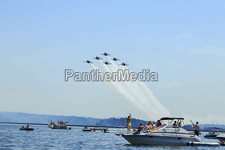 airshow blue angels seafair celebration