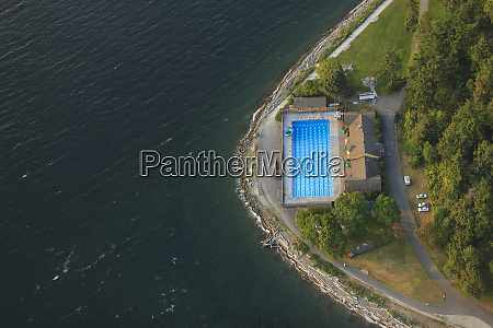 aerial view of lincoln park salt