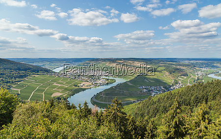 fuenfseenblick at the moselle germany