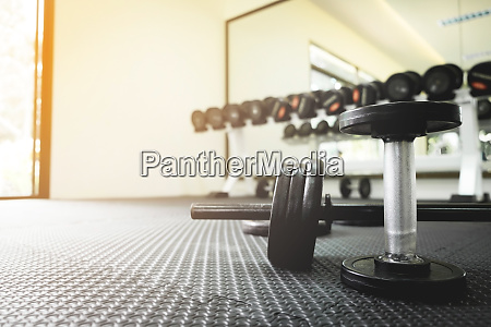 exercise weights iron dumbbell with