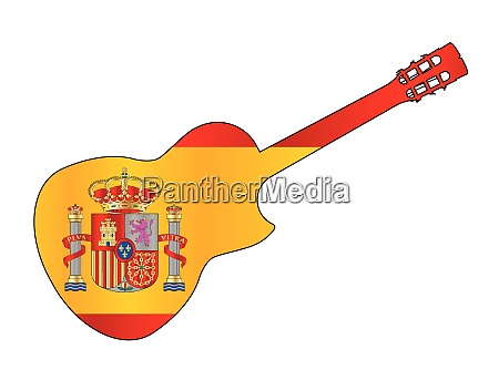 spanish cutaway acoustic guitar on