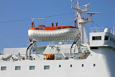 emergecy boat